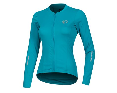 Pearl Izumi Women's Select Pursuit Long Sleeve Jersey (Breeze/Teal)