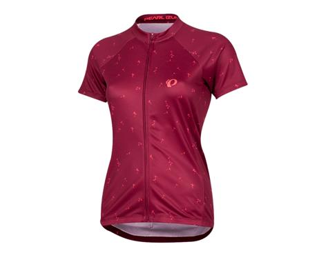 Pearl Izumi Women's Select Pursuit Short Sleeve Jersey (Beet Red Wish) (XL)