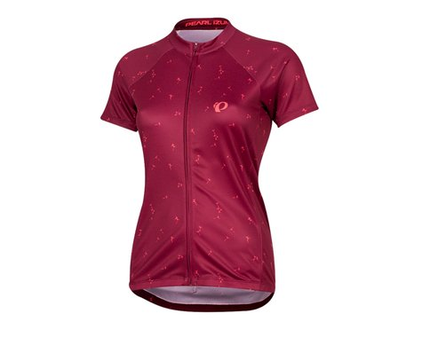 Pearl Izumi Women's Select Pursuit Short Sleeve Jersey (Beet Red Wish) (2XL)