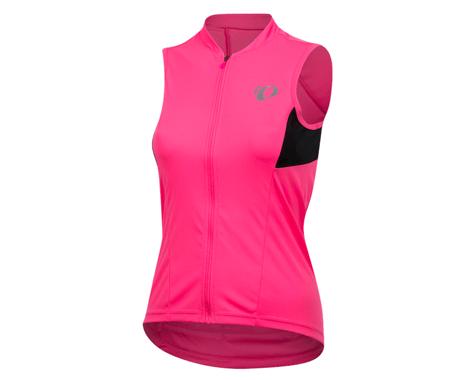 Pearl Izumi Women's Select Pursuit Jersey (Screaming Pink/Black)