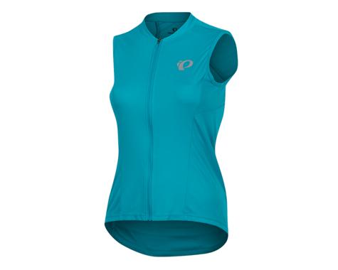 Pearl Izumi Women's Select Pursuit Sleeveless Jersey (Breeze/Teal) (XS)