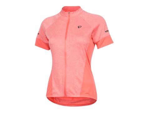 Pearl Izumi Women's Select Escape Short Sleeve Jersey (Sugar Coral/Peach) (2XL)