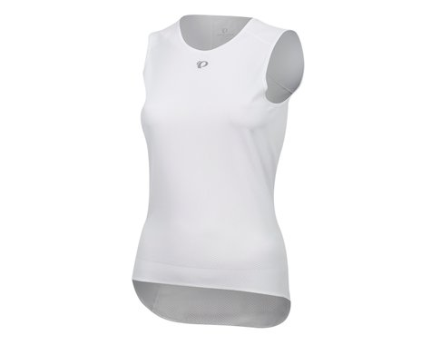 Pearl Izumi Women's Transfer Cycling Sleeveless Base Layer (White) (XL)