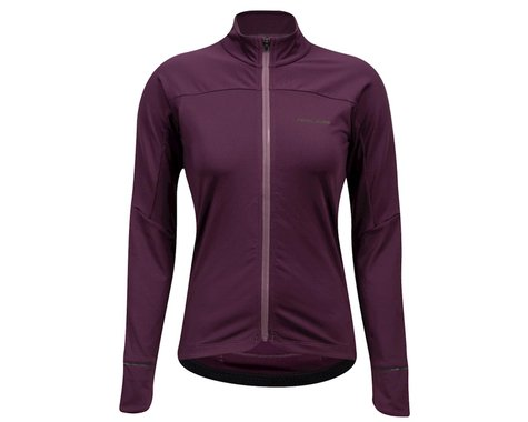 Pearl Izumi Women's Attack Thermal Long Sleeve Jersey (Dark Violet/Arctic Dusk) (M)