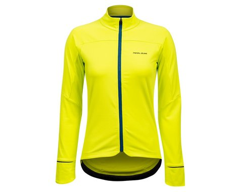 Pearl Izumi Women's Attack Thermal Long Sleeve Jersey (Bio Lime/Twlight)