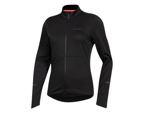 Pearl Izumi Women's Quest Thermal Long Sleeve Jersey (Black) (L)