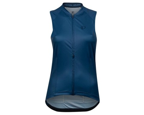 Pearl Izumi Women's Attack Sleeveless Jersey (Navy/Dark Denim Deco) (S)