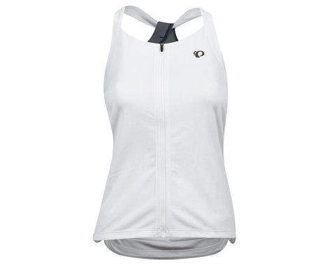 Pearl Izumi Women's Sugar Sleeveless Jersey (White/Turbulence) (XL)
