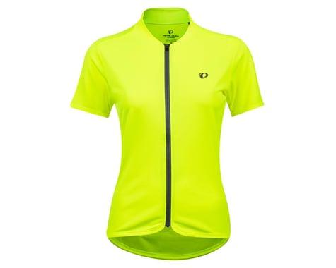 Pearl Izumi Women's Quest Short Sleeve Jersey (Screaming Yellow/Turbulence) (L)