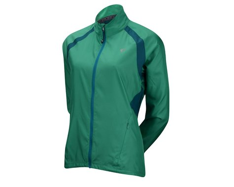 Pearl Izumi Women's ELITE Barrier Jacket (Teal Gr)
