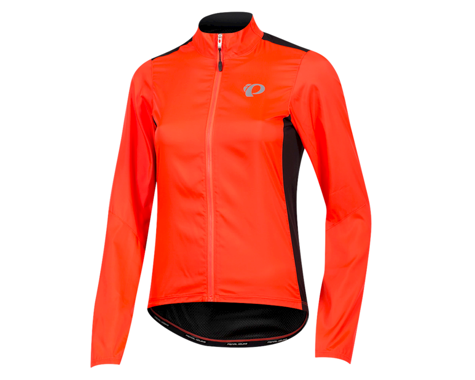Pearl Izumi Women's Elite Pursuit Hybrid Jacket (Fiery Coral/Black) (S)