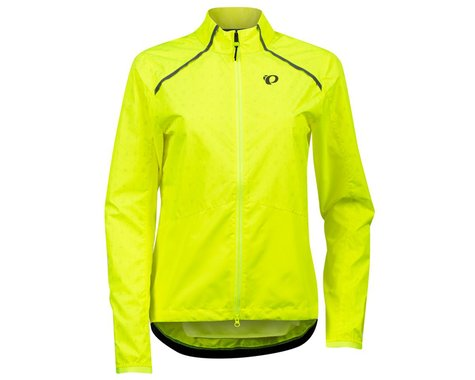 Pearl Izumi Women's Bioviz Barrier Jacket (Screaming Yellow/Reflective Deco) (XL)