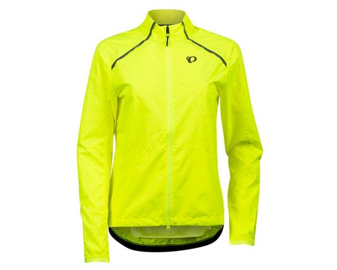 Pearl Izumi Women's Bioviz Barrier Jacket (Screaming Yellow/Reflective Deco) (XS)