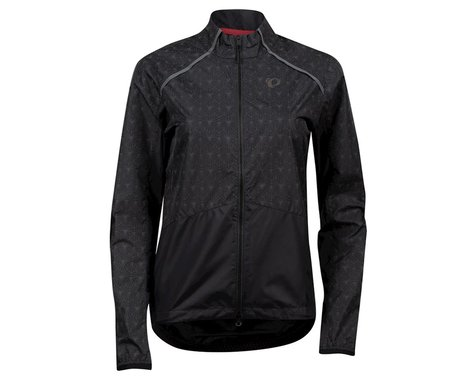 Pearl Izumi Women's Bioviz Barrier Jacket (Black/Reflective Deco) (XL)