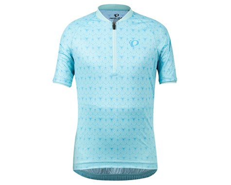 Pearl Izumi Jr Girls Sugar Short Sleeve Jersey (Air/Stratus Blue Deco) (S)