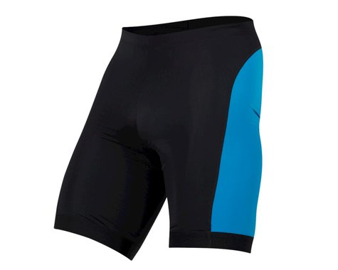Pearl Izumi Select Pursuit Tri Shorts (Black/Atomic Blue) (XS)