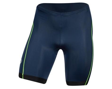 Pearl Izumi Select Pursuit Tri Shorts (Navy/Screaming Yellow) (L)