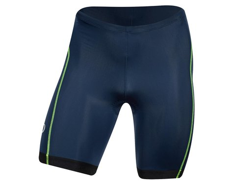 Pearl Izumi Select Pursuit Tri Shorts (Navy/Screaming Yellow) (XS)