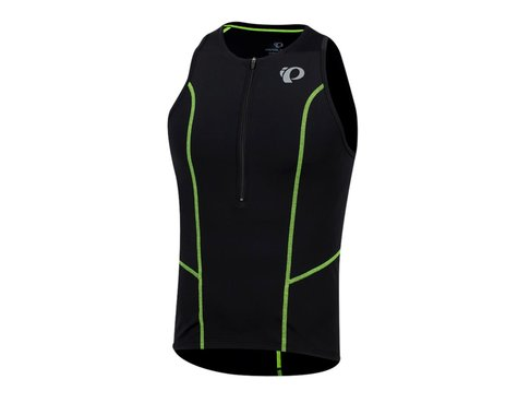 Pearl Izumi Select Pursuit Tri Singlet (Black/Screaming Yellow) (M)