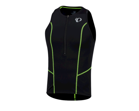 Pearl Izumi Men's Select Pursuit Tri Singlet (Black/Screaming Yellow) (S)