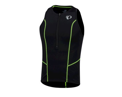 Pearl Izumi Select Pursuit Tri Singlet (Black/Screaming Yellow) (2XL)