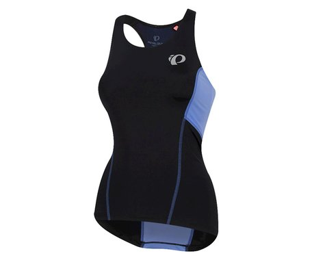 Pearl Izumi Women's Select Pursuit Tri Tank (Black/Lavender) (2XL)