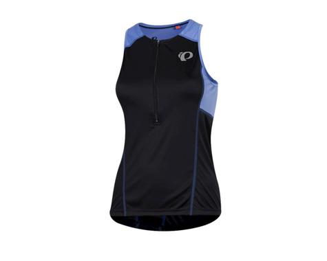 Pearl Izumi Women's Select Pursuit Tri Jersey (Black/Lavender) (L)
