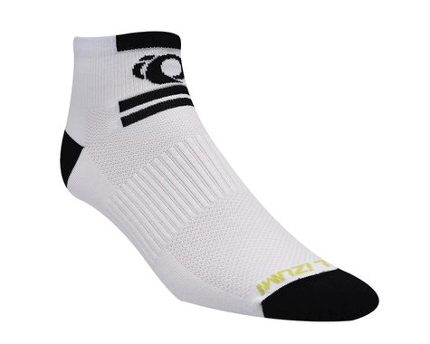 Pearl Izumi Elite Low Socks (White) (Large)