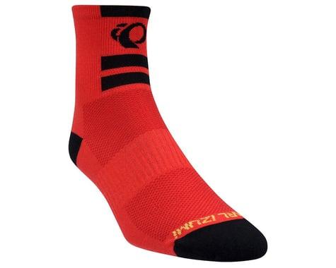 Pearl Izumi Elite Sock - 2016 (Red) (Large)
