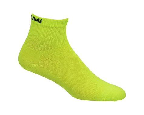 Pearl Izumi Attack Sock 3-pack (Screaming Yellow)