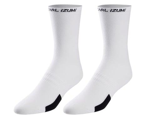 Pearl Izumi Elite Tall Socks (White)