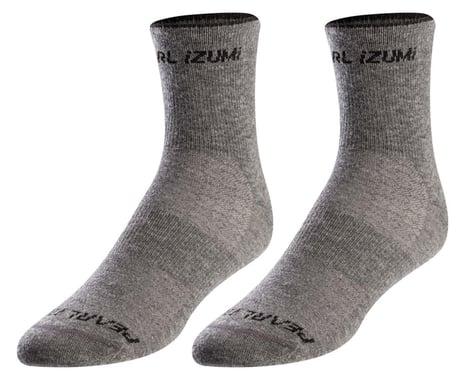 Pearl Izumi Merino Wool Sock (Smoked Pearl Core) (L)