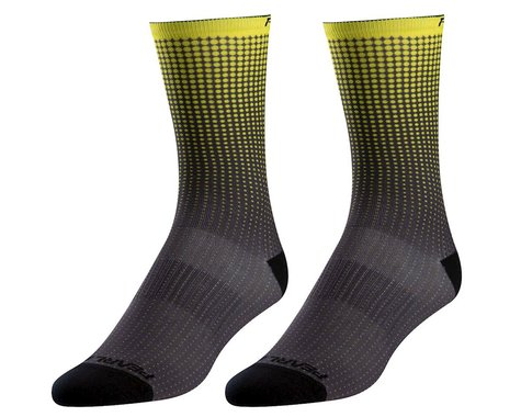 Pearl Izumi PRO Tall Socks (Screaming Yellow Transform) (L)
