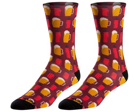 Pearl Izumi Pro Tall Socks (Beers and Bottles) (M)