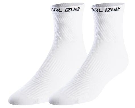 Pearl Izumi Elite Socks (White) (L)