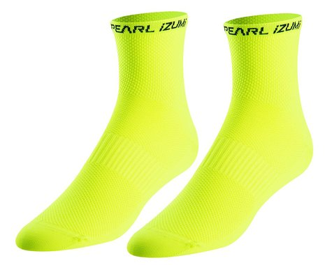 Pearl Izumi Elite Tall Socks (Screaming Yellow) (M)