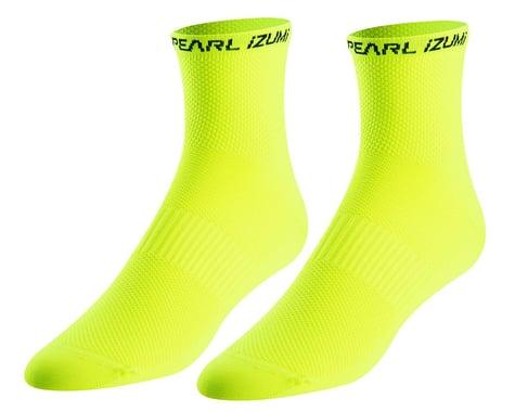 Pearl Izumi Elite Tall Socks (Screaming Yellow) (XL)