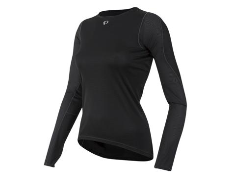 Pearl Izumi Women's Transfer Long Sleeve Baselayer (Black) (L)