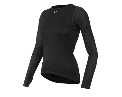 Pearl Izumi Women's Transfer Long Sleeve Baselayer (Black) (M)