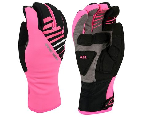 Pearl Izumi Women's Elite Softshell Gel Gloves (Pink) (S)