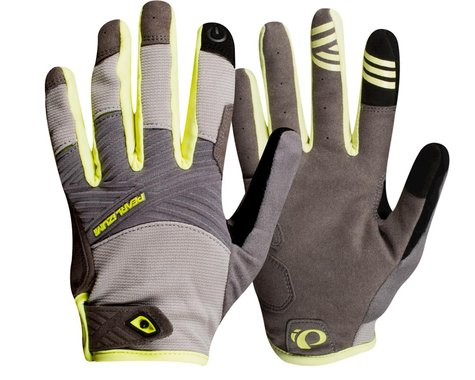 Pearl Izumi Women's Summit Gloves (Wet Weather/Sunny Lime) (L)