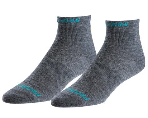 Pearl Izumi Women's Elite Wool Sock (Shadow Grey)