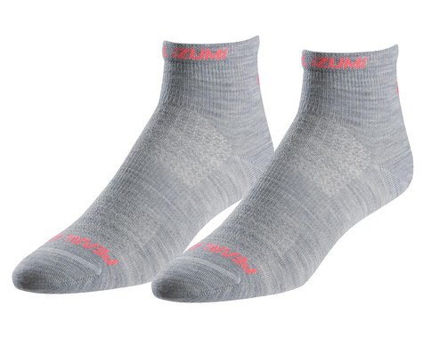 Pearl Izumi Women's Elite Wool Sock (Limestone) (S)
