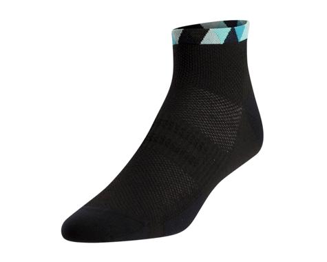 Pearl Izumi Women's Elite Low Sock (Teal Triads)