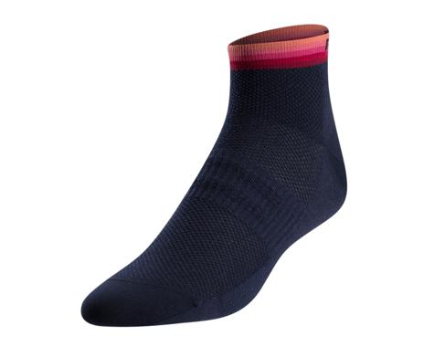 Pearl Izumi Women's Elite Low Sock (Sugar Coral Descent)