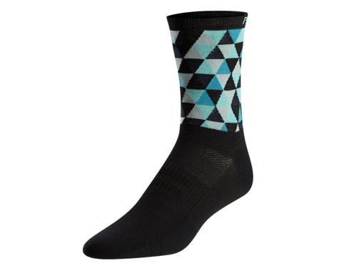 Pearl Izumi Women's Elite Tall Sock (Teak Triads)