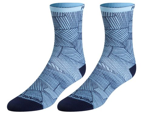 Pearl Izumi Women's PRO Tall Sock (Air/Navy Lucent) (L)