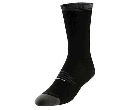Pearl Izumi Elite Thermal Wool Cycling Socks (Black)