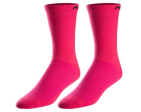 Pearl Izumi Attack Tall Socks (Screaming Pink) (M)