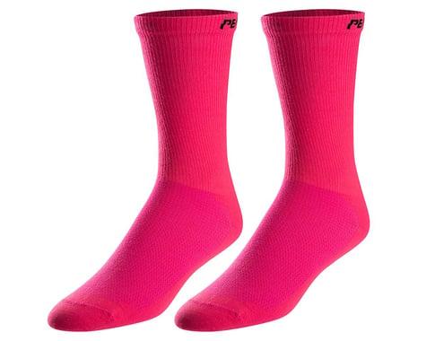 Pearl Izumi Attack Tall Socks (Screaming Pink) (XL)